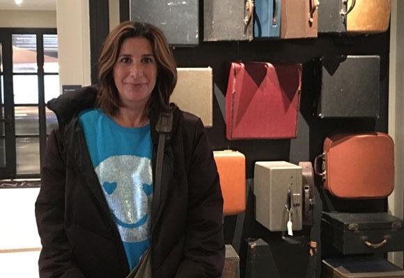 Pilar García de la Granja disfrutando del Press Hotel