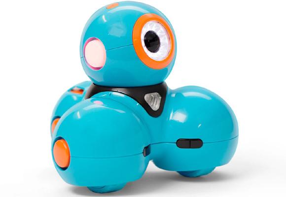 Uno de los robots que se pueden ver dedicado a los niños
