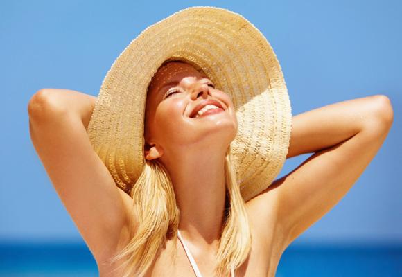 El sol ayuda a fijar el calcio de los dientes