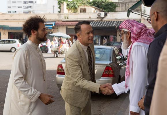 Una comedia dramática sobre las peripecias en Oriente Medio de un ejecutivo americano en horas bajas