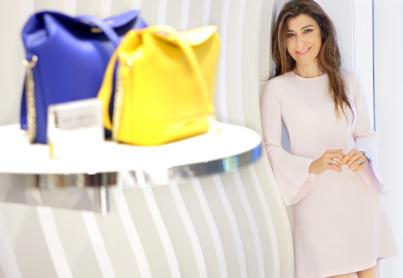 Eva Revuelta en la Flapship Store de Valencia