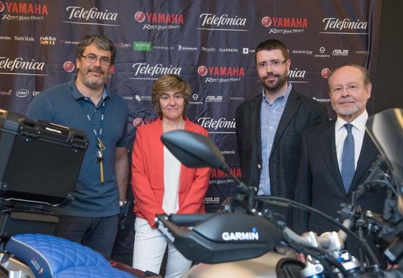 Presentación de la Telefónica Yamaha Globalrider