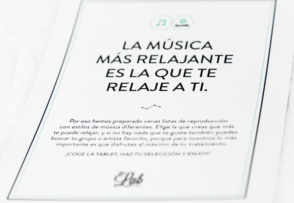 Tú eliges la música para disfrutar del tratamiento