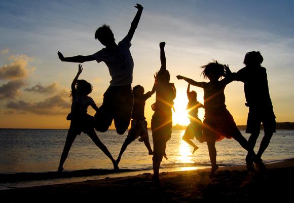 ¡La vida es mejor rodeado de amigos!