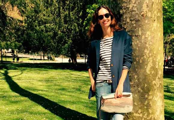 Eugenia Silva es fiel a los diseños de Zubi