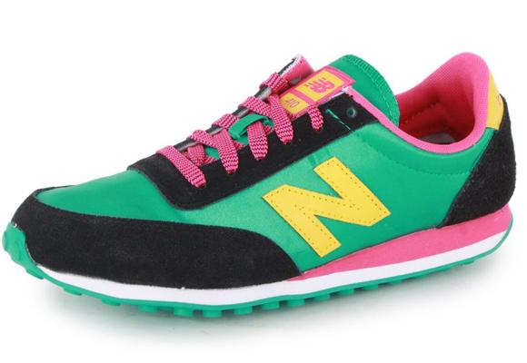 El nailon se utiliza mucho en zapatillas deportivas
