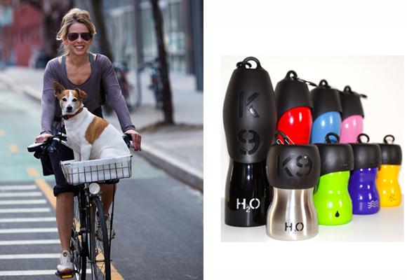 Botella y comedero para salir en bici y que no le falte el agua. Compra aquí