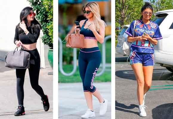 Kylie ha impuesto una moda sporty