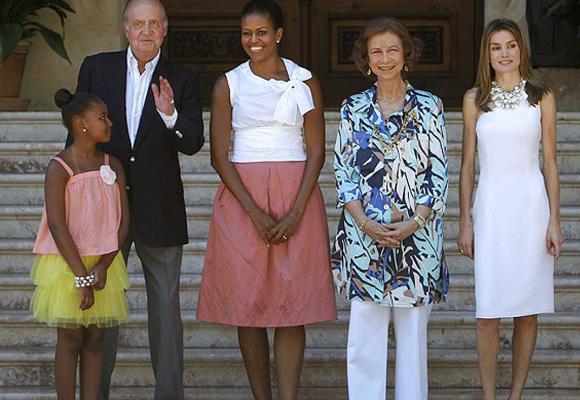 Michelle visitó Mallorca durante sus vacaciones en España hace ya unos años