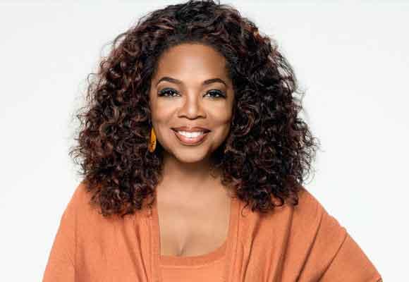 La presentadora Oprah Winfrey es la segunda del ranking