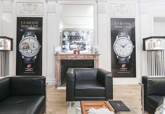 El Palacete de Fernando el Santo se llenará de lujo... y relojes