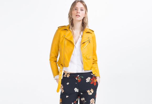 La famosa chaqueta de piel de Zara. Compra aquí