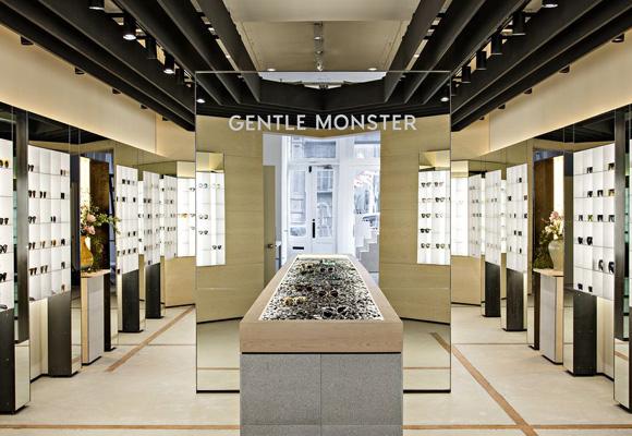 Tienda de gafas de la firma coreana Gentle Monster