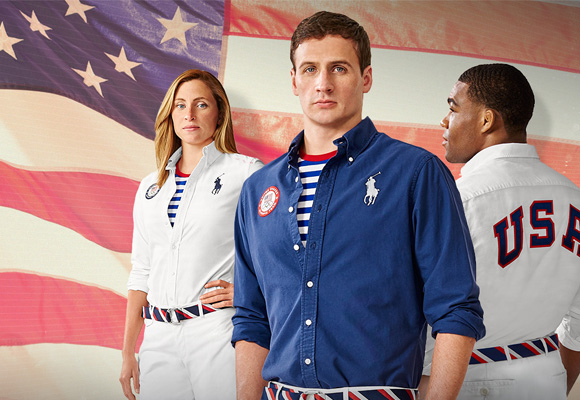 Los deportistas de EEUU son la imagen de Ralph Lauren para Río 2016