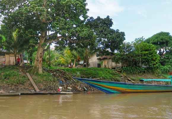 Comunidad aguajun en Borja
