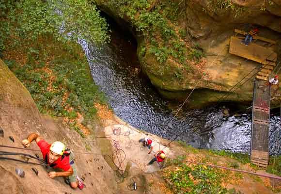 Canyoning en el Rincón de la Vieja, una experiencia inolvidable