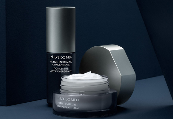 Línea de belleza sólo para hombre de Shiseido. Compra aquí