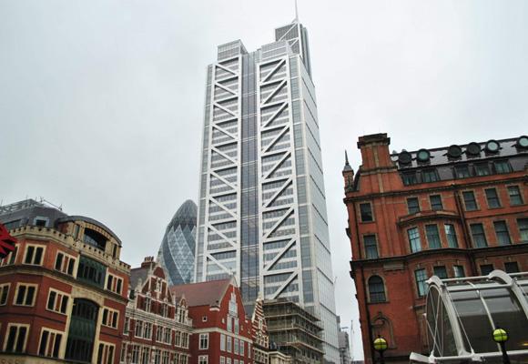 Heron Tower y sus 230 metros de altura