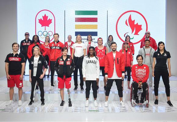Los deportistas de Canadá irán vestidos de Hudson Bay