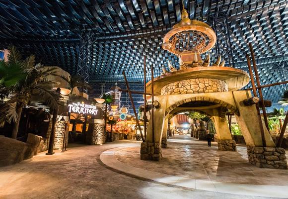 Un parque temático para niños y mayores