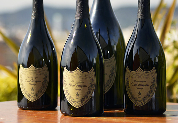 Todo Dom Pérignon son champagnes vintage