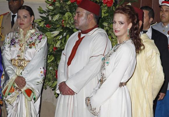 La Princesa de Marruecos, Lalla Salma, ha comprado un vestido de Ibimoda para una fiesta