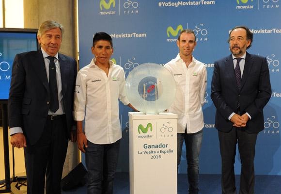 Esfuerzo y trabajo en equipo, claves del Movistar Team