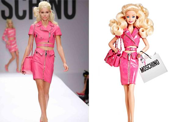 Compra aquí la Barbie Moschino