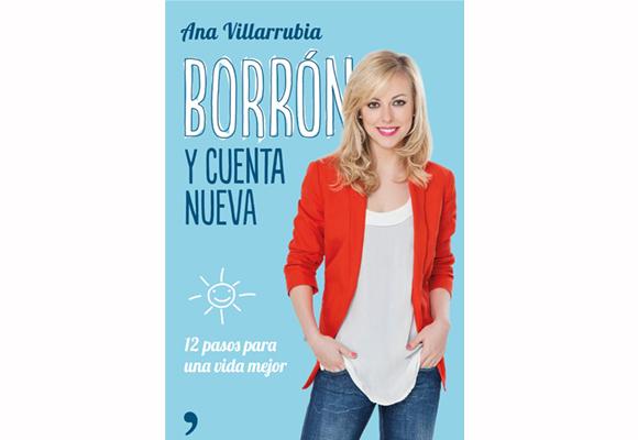 Portada de 'Borrón y cuenta nueva' de Ana Villarrubia