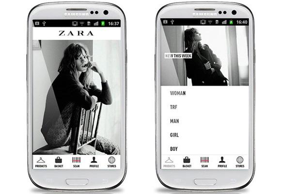 La nueva app de Zara, más útil y práctica