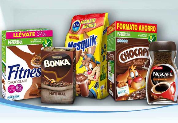 Productos para el desayuno de Nestlé. Compra aquí