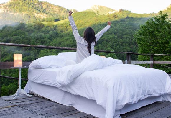 Practica yoga nada más levantarte