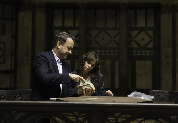 Tom Hanks comparte 'Inferno' con Felicity Jones