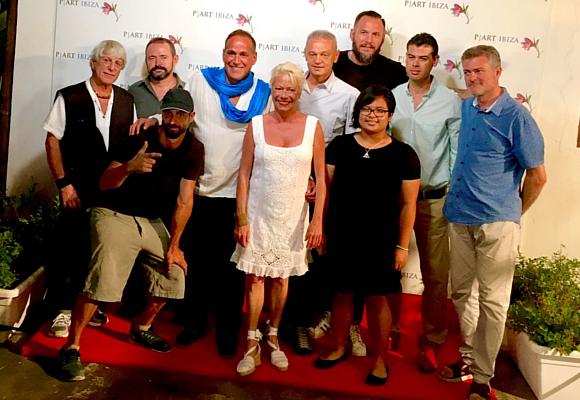 Foto grupo la galería P I Art Ibiza