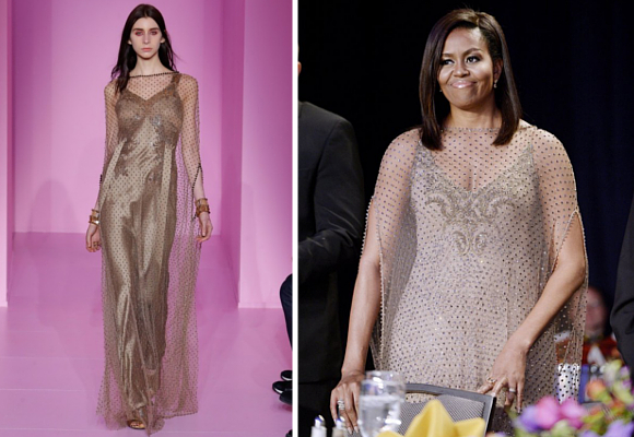 Givenchy y Michelle Obama