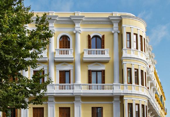 Un palacete esconde el Gran Hotel Montesol