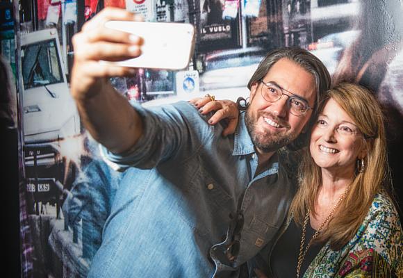 Màxim Huerta y Amalia Enríquez selfie
