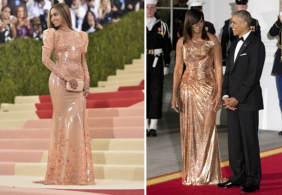 Michelle Obama y Beyonce
