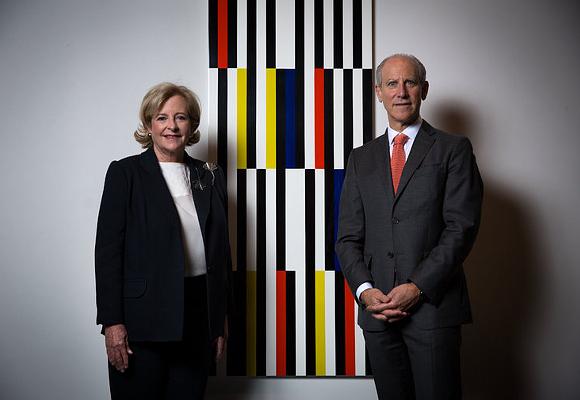 Patricia Phelps de Cisneros y Glenn D. Lowry 2