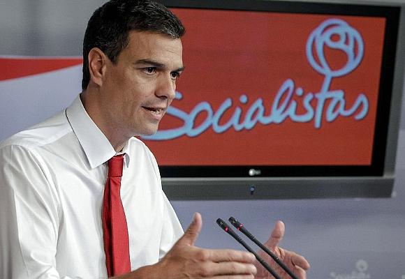 Pedro Sánchez socialistas