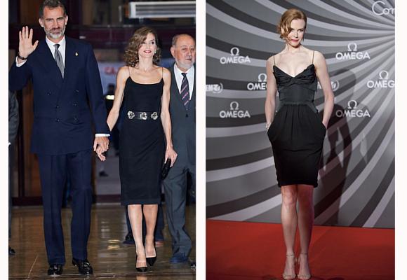 Reina Letizia y Nicole Kidman