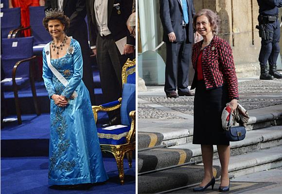 Silvia de Suecia y Sofía de España