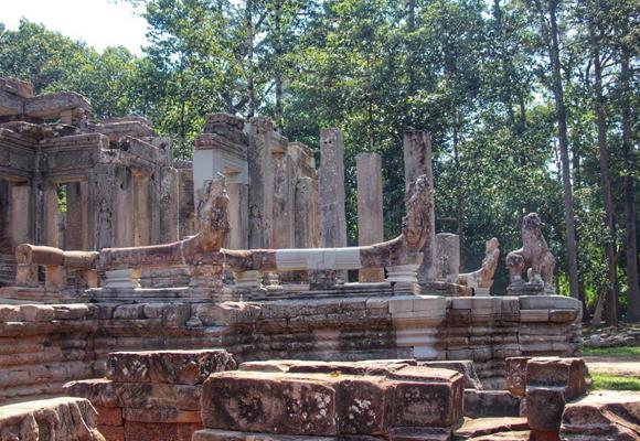 Templo de Wat Ta Prohm en Camboya