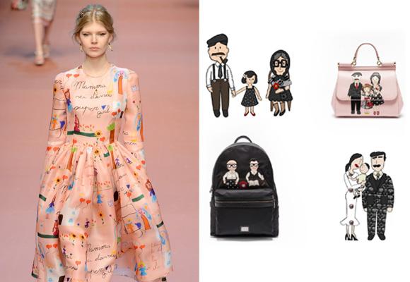 Dolce & Gabbana, colección Viva la mamma!