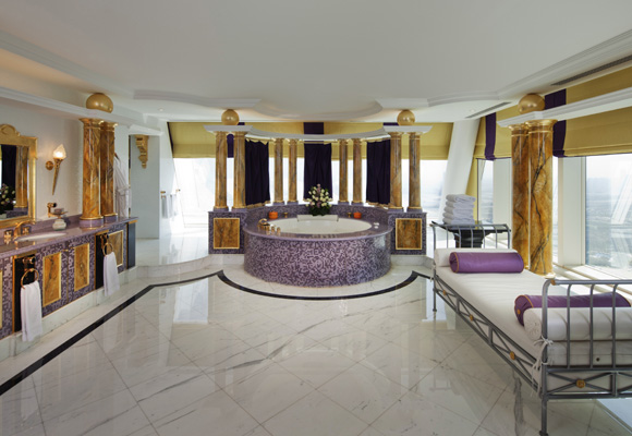 Baño en Hotel Burj Al Arab Jumeirah