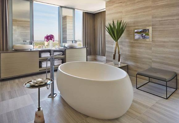 Baño de hotel Four Seasons Toronto