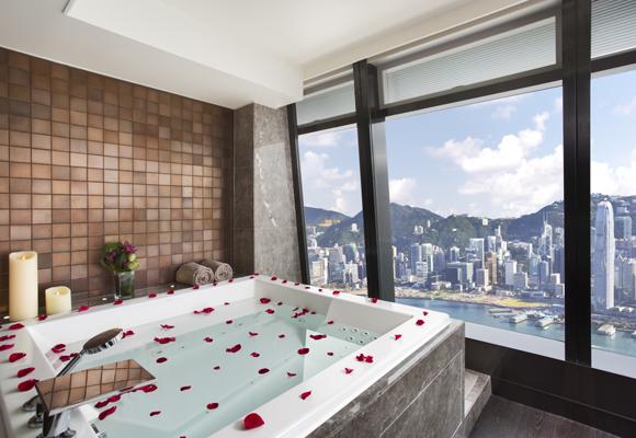 Baño en Ritz Carlton HK