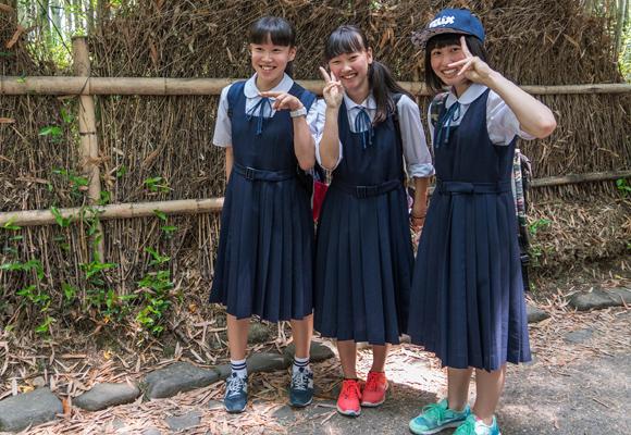 Estudiantes asiáticas