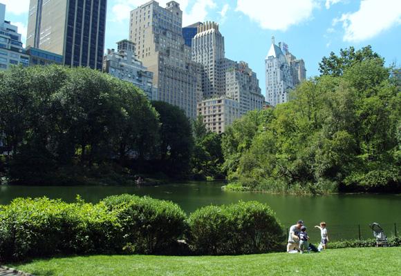 Central Park se llena de corredores en unas semanas