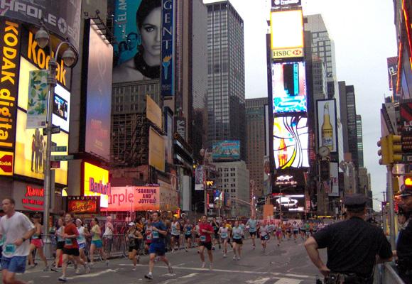 De Brooklyn a Times Square sin parar